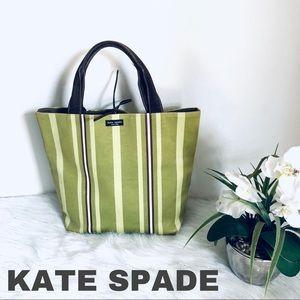 KATE SPADE NEW YORK KITT STRIPE TOTE BAG